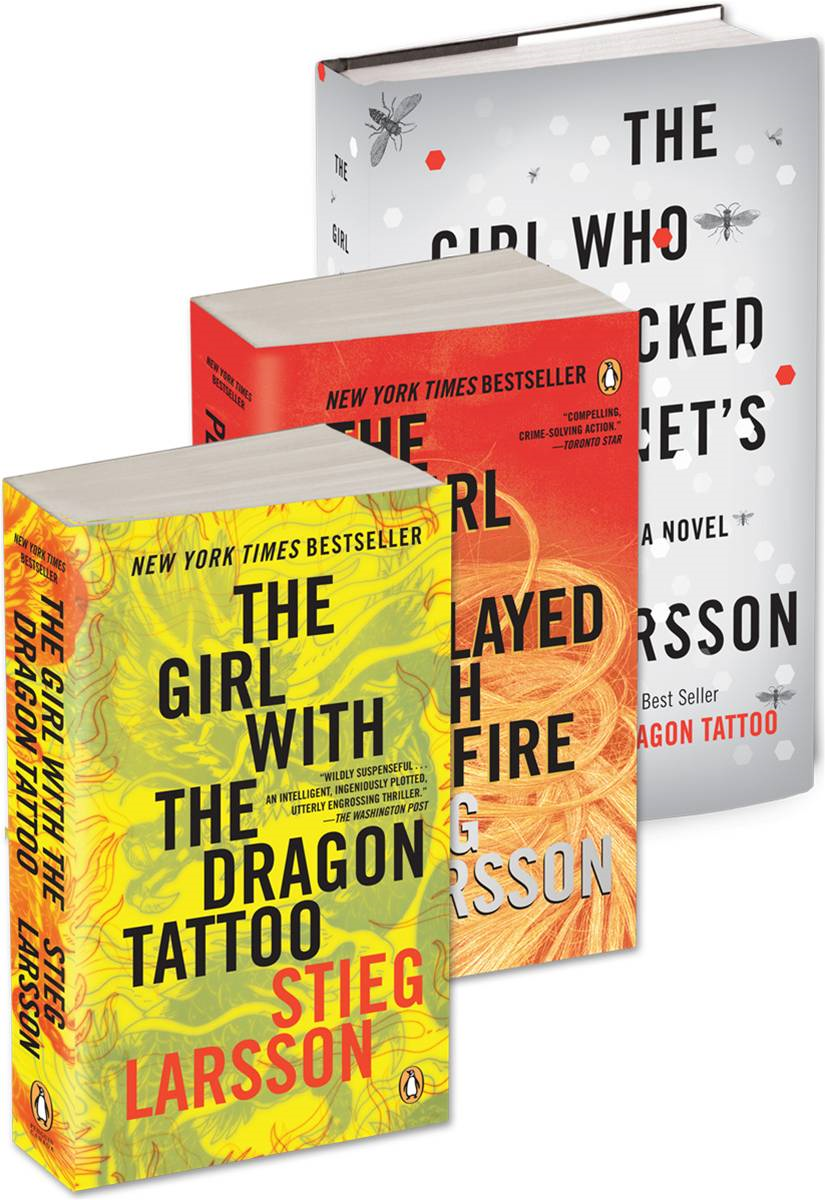 Millennium Trilogy (3 eBook set) - The Girl with the Dragon Tattoo, The Girl Who Played with Fire, The Girl Who Kicked the Hornet