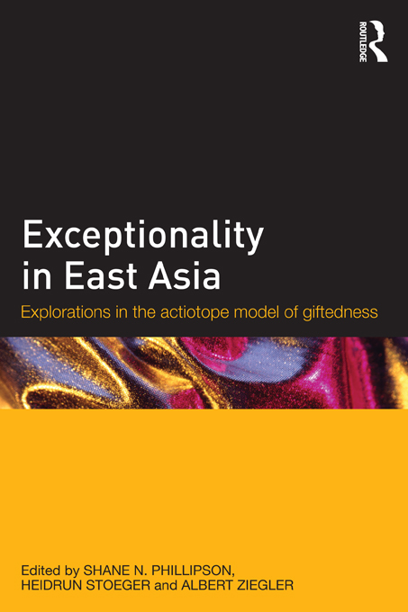 Exploring Giftedness in East Asia