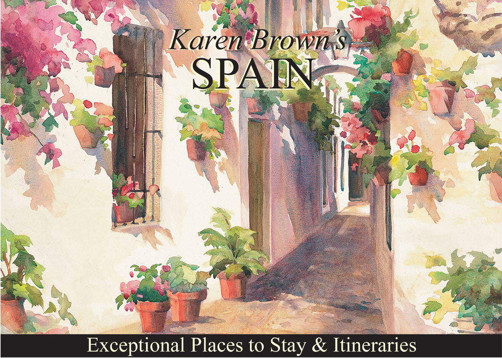 Karen Brown's Spain By: Clare Brown,Cynthia Sauvage,June Eveleigh Brown,Karen Brown