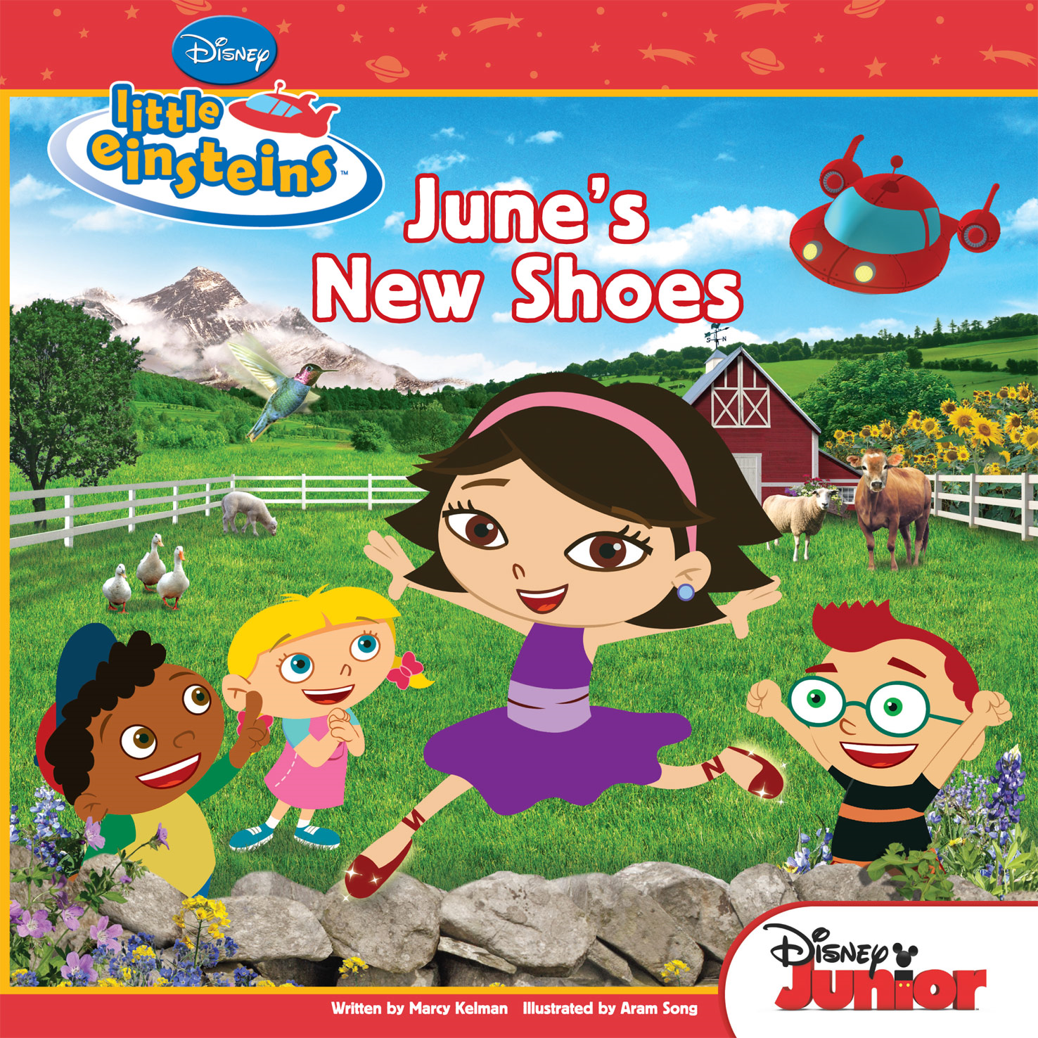 Little Einsteins:  June's New Shoes By: Marcy Kelman