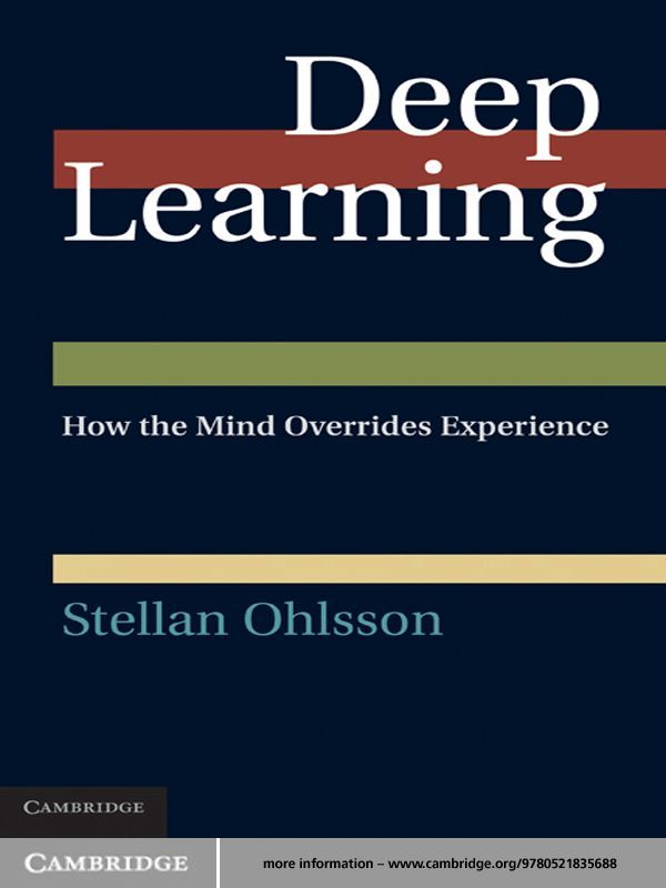 Deep Learning By: Stellan Ohlsson