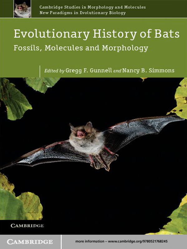 Evolutionary History of Bats Fossils,  Molecules and Morphology