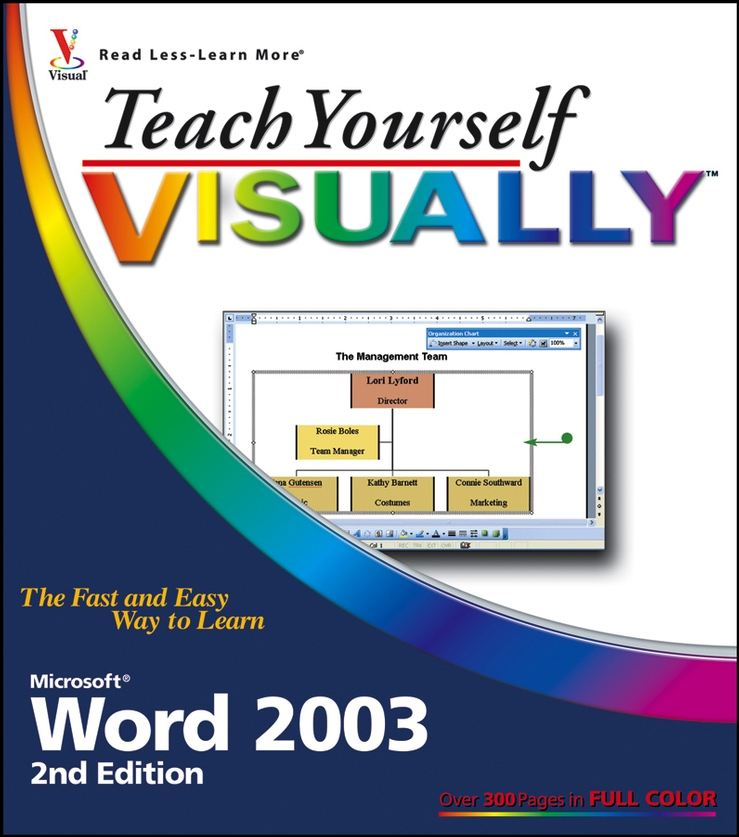 Teach Yourself VISUALLY Microsoft Word 2003