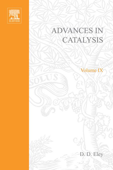 ADVANCES IN CATALYSIS VOLUME 9 By: AUTHOR, UNKNOWN