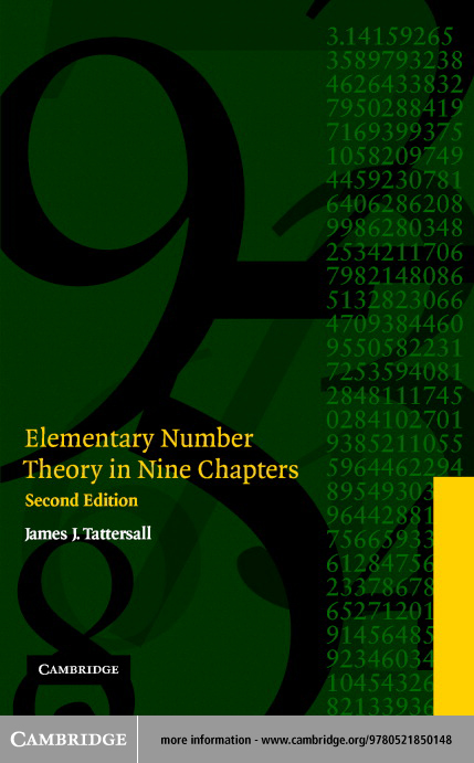 Elementary Number Theory in Nine Chapters, Second Edition