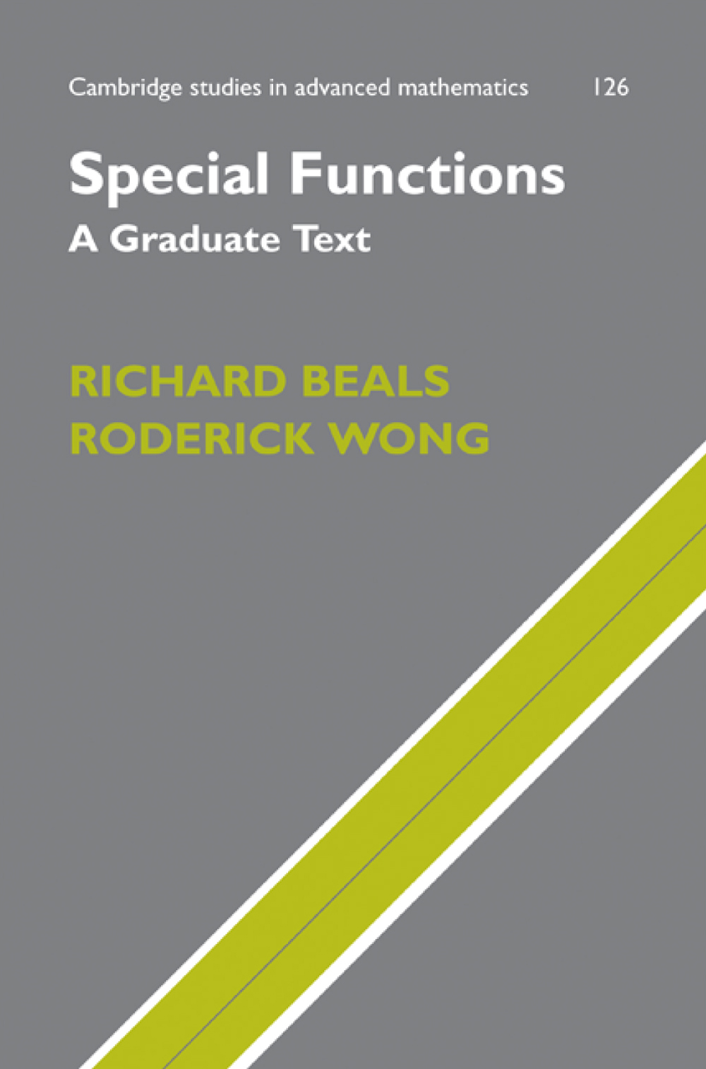 Special Functions A Graduate Text