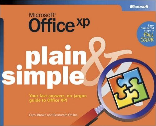 Microsoft® Office XP Plain & Simple