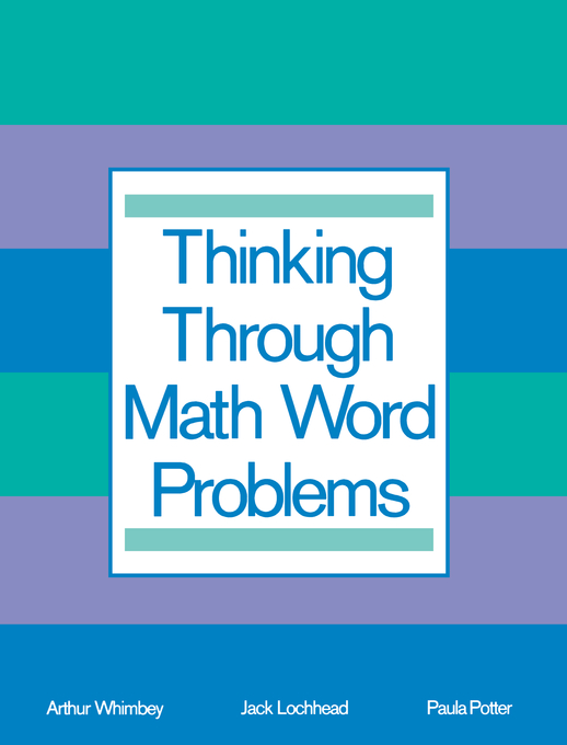 Thinking Through Math Word Problems
