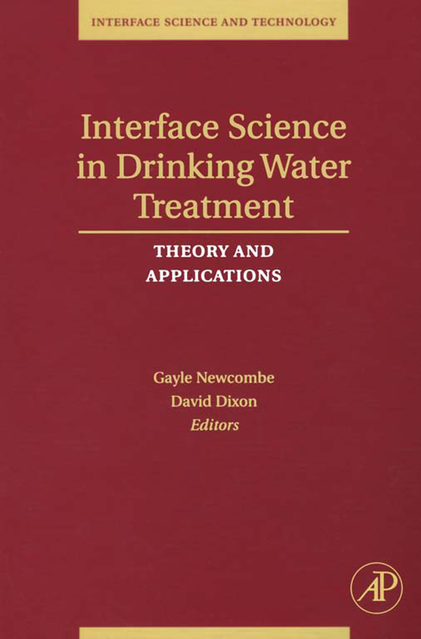 Interface Science in Drinking Water Treatment Theory and Applications