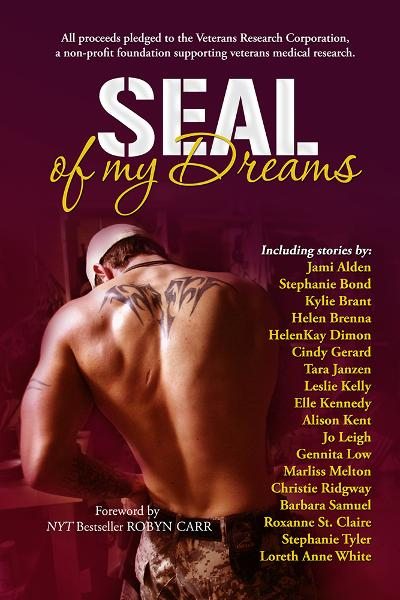 SEAL Of My Dreams By:  Alison Kent, Barbara Samuel, Christie Ridgway, Cindy Gerard, Elle Kennedy, Gennita Low, Helen Brenna, HelenKay Dimon, Jo Leigh, Kylie Brant, L, Leslie Kelly, Marliss Melton, Roxanne St. Claire, Stephanie Bond, Stephanie Tyler, Tara Janzen,Jami Alden