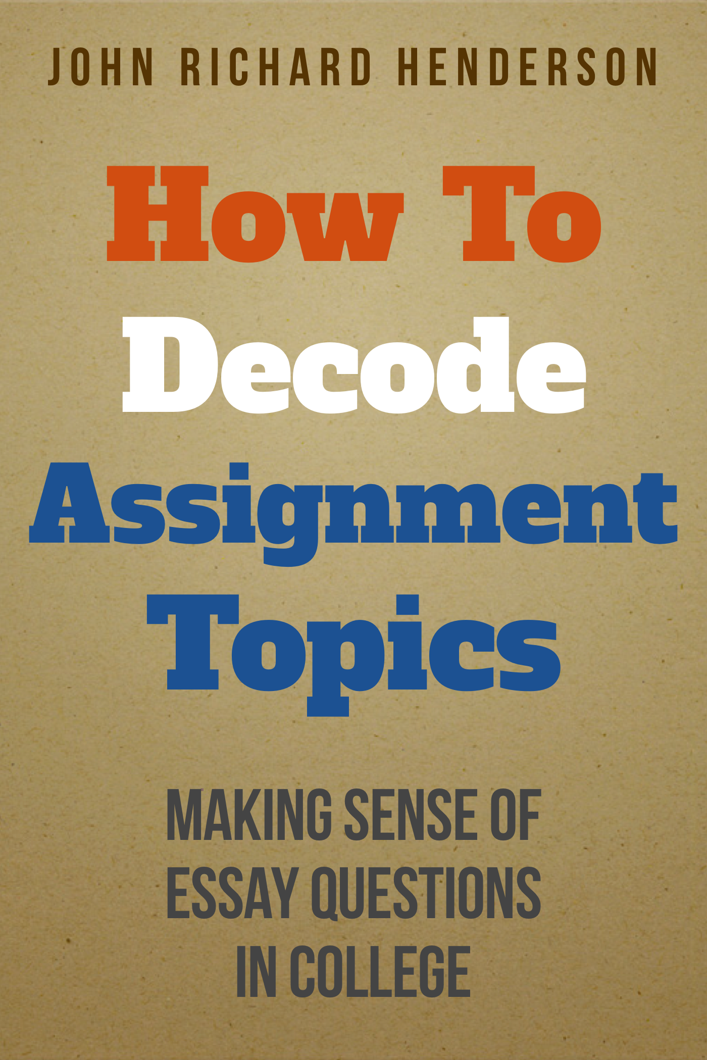making sense of data 2 essay Discover great essay examples how to outline and structure an essay learn how to establish a clear sense of direction.