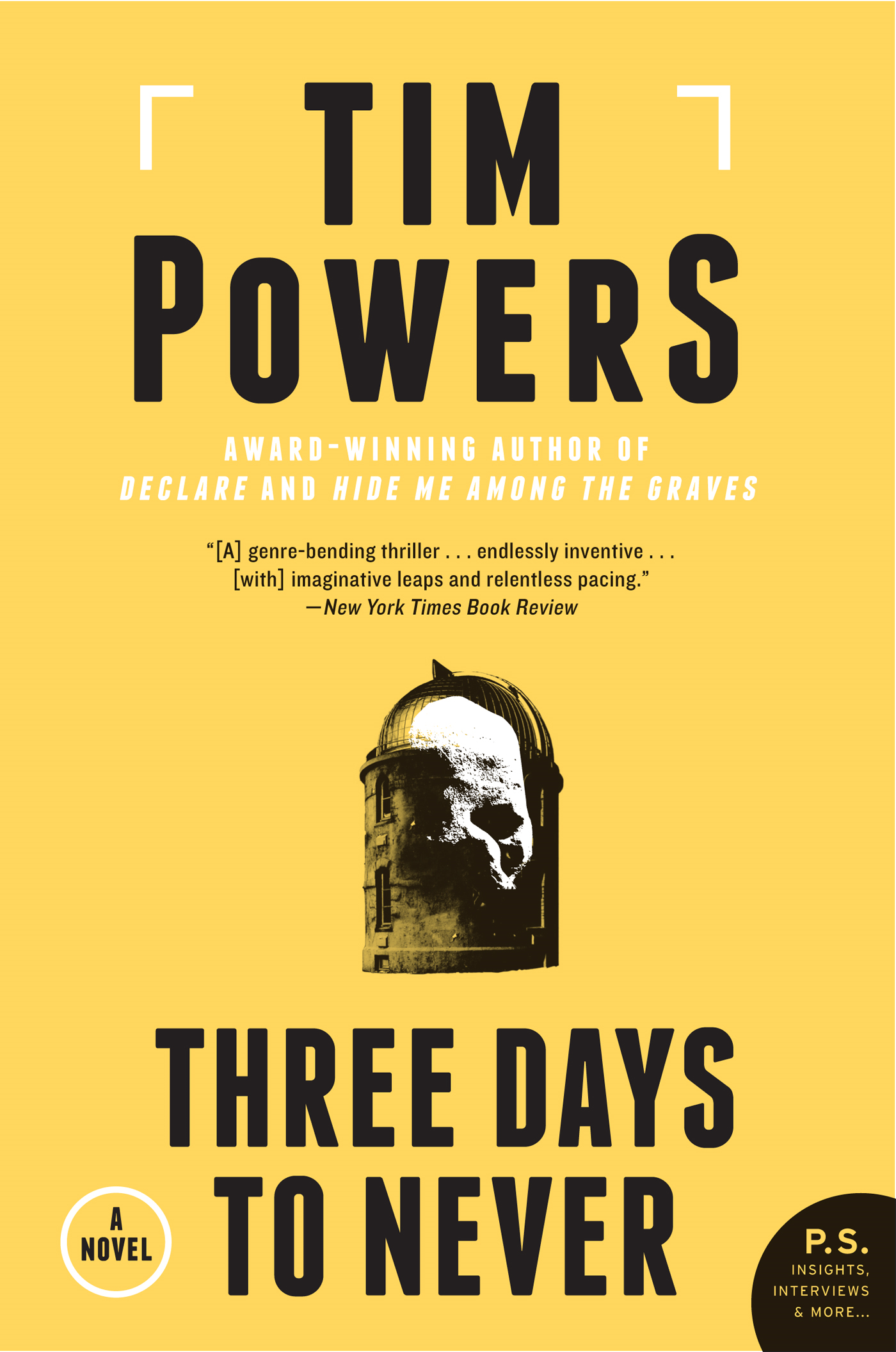 Three Days to Never By: Tim Powers