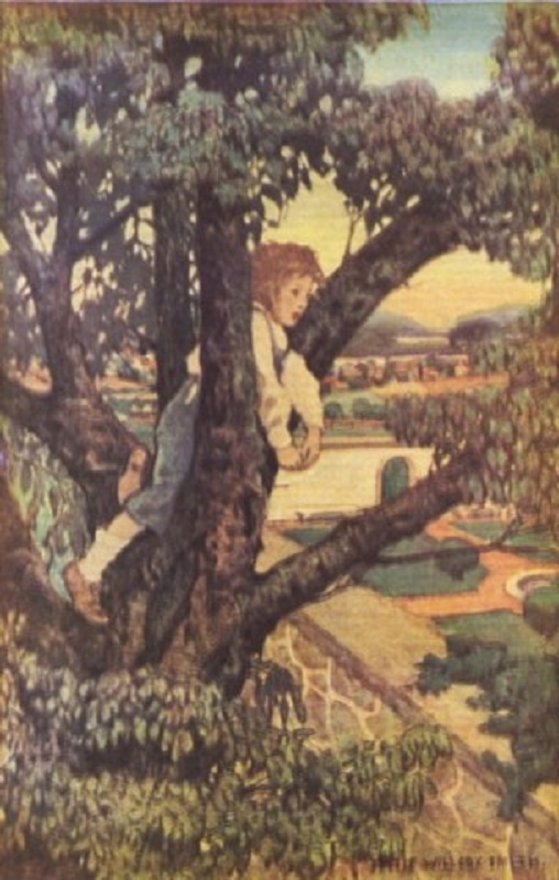 A Child's Garden of Verses, Illustrated By: Robert Louis Stevenson