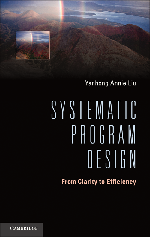 Systematic Program Design From Clarity to Efficiency