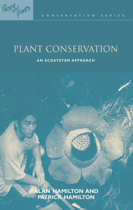 Plant Conservation An Ecosystem Approach