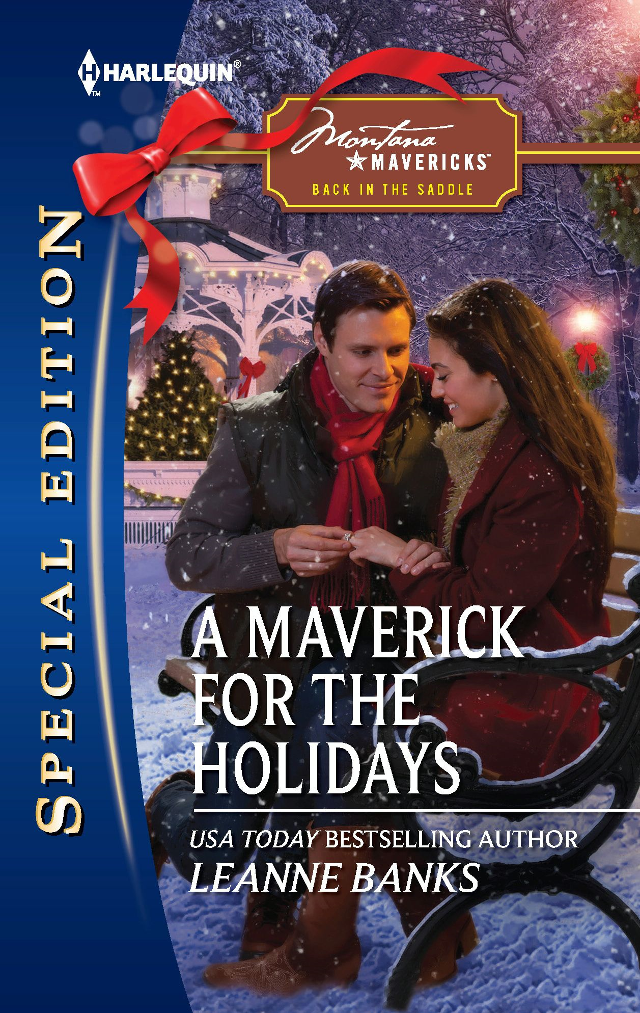 A Maverick for the Holidays By: Leanne Banks