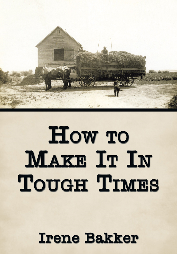 How to Make It In Tough Times
