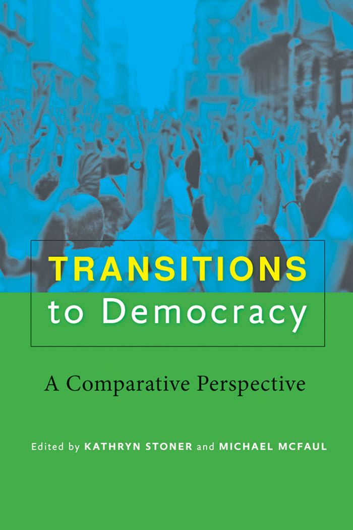 Book Cover: Transitions to Democracy