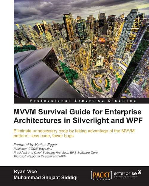 MVVM Survival Guide for Enterprise Architectures in Silverlight and WPF By: Ryan Vice