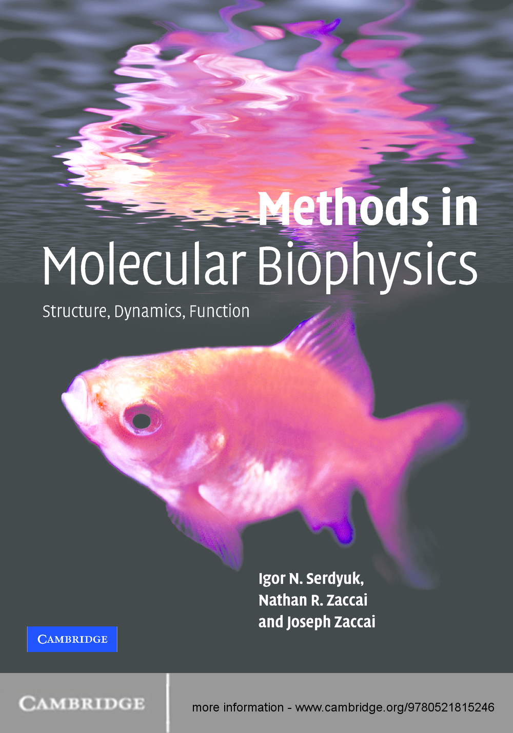 Methods in Molecular Biophysics Structure,  Dynamics,  Function