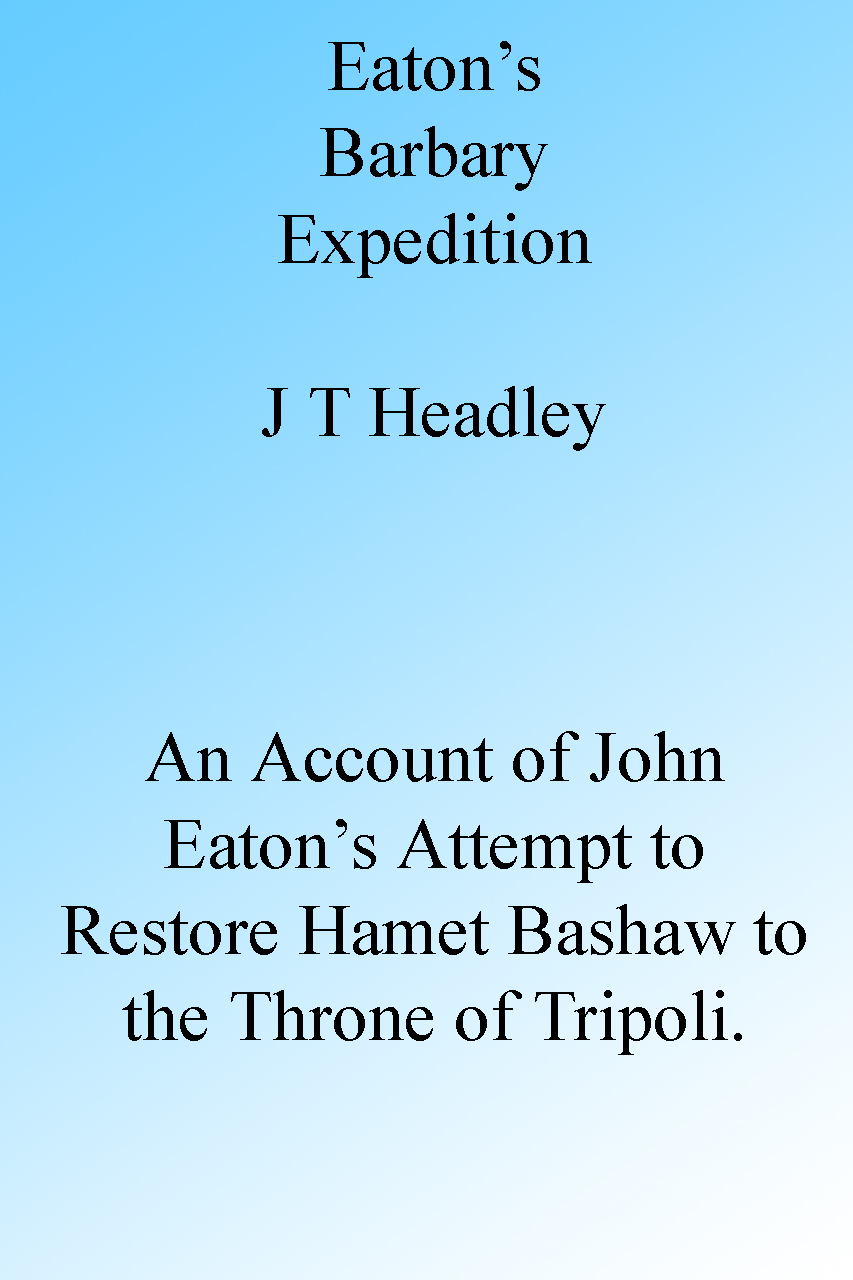 Eaton's Barbary Expedition