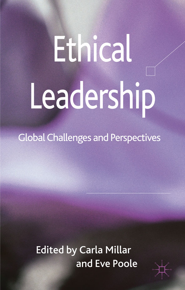 Ethical Leadership Global Challenges and Perspectives