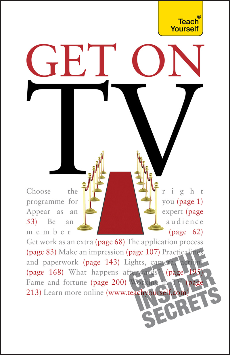 Get On TV By: Katherine Lapworth