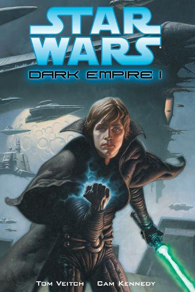 Star Wars: Dark Empire I 3rd Edition By: Tom Veitch, Cam Kennedy, Mark Zug (Cover Artist)
