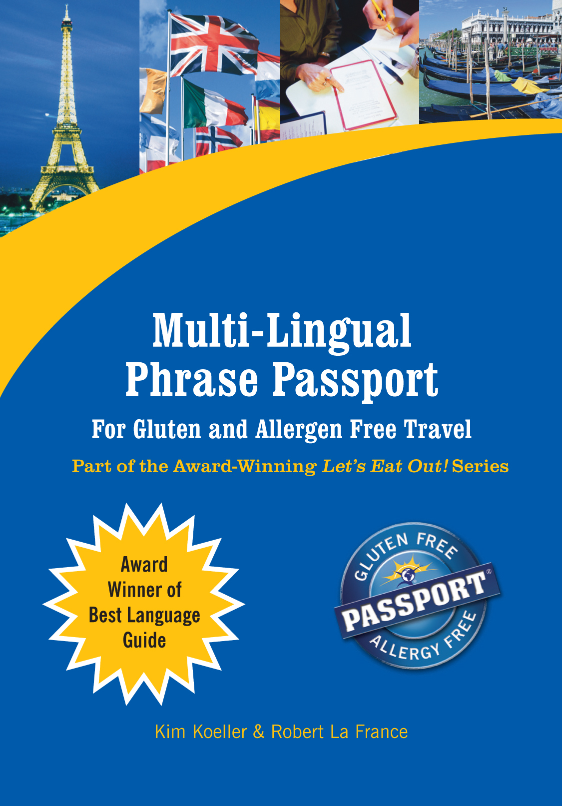 Multi-Lingual Phrase Passport for Gluten and Allergen Free Travel