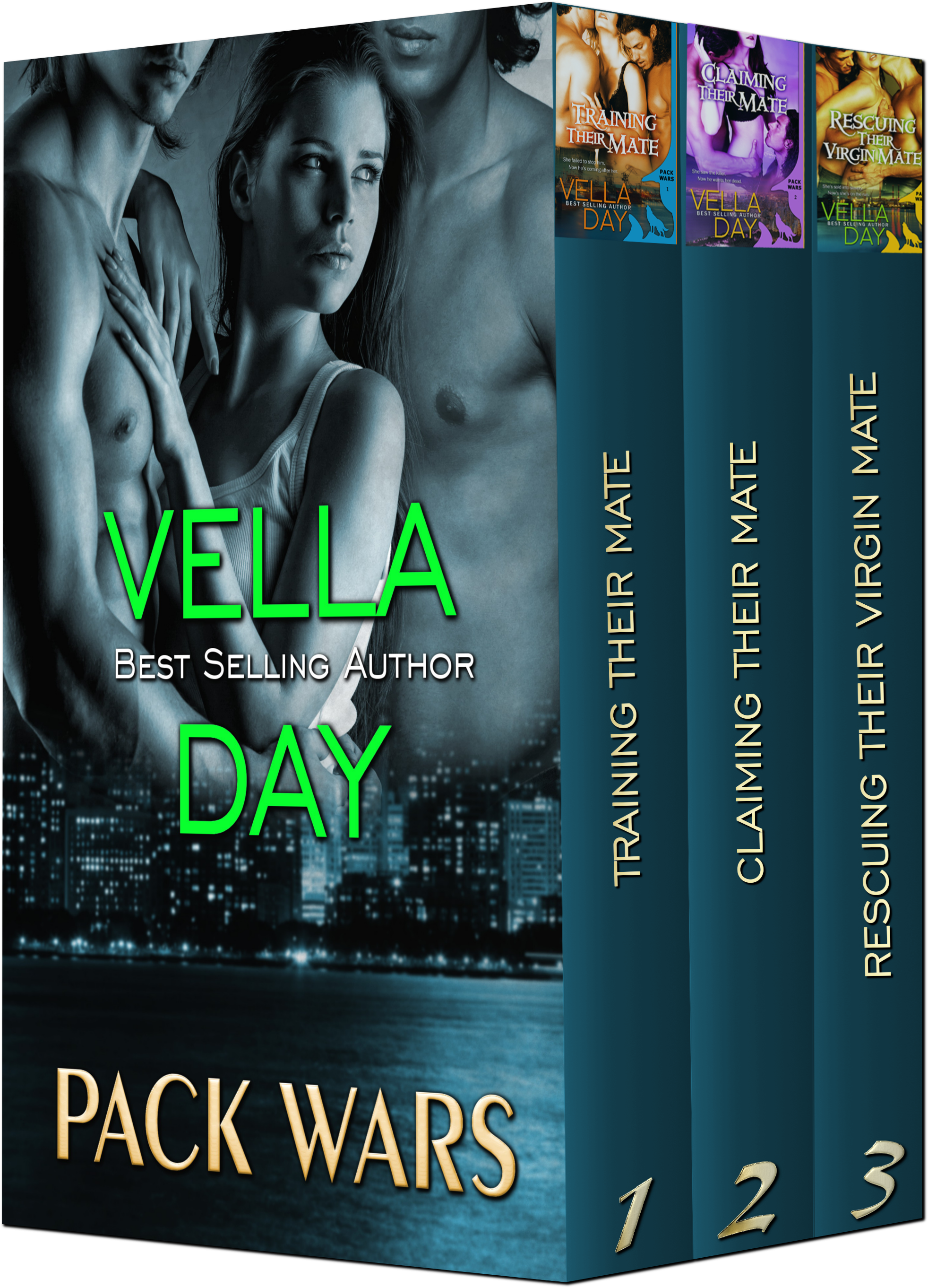 Vella Day - Pack Wars(Boxed Set of 3 books)