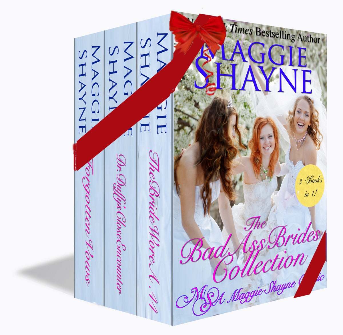 The Kobo Starter Pack: The Bad Ass Brides Collection By: Maggie Shayne