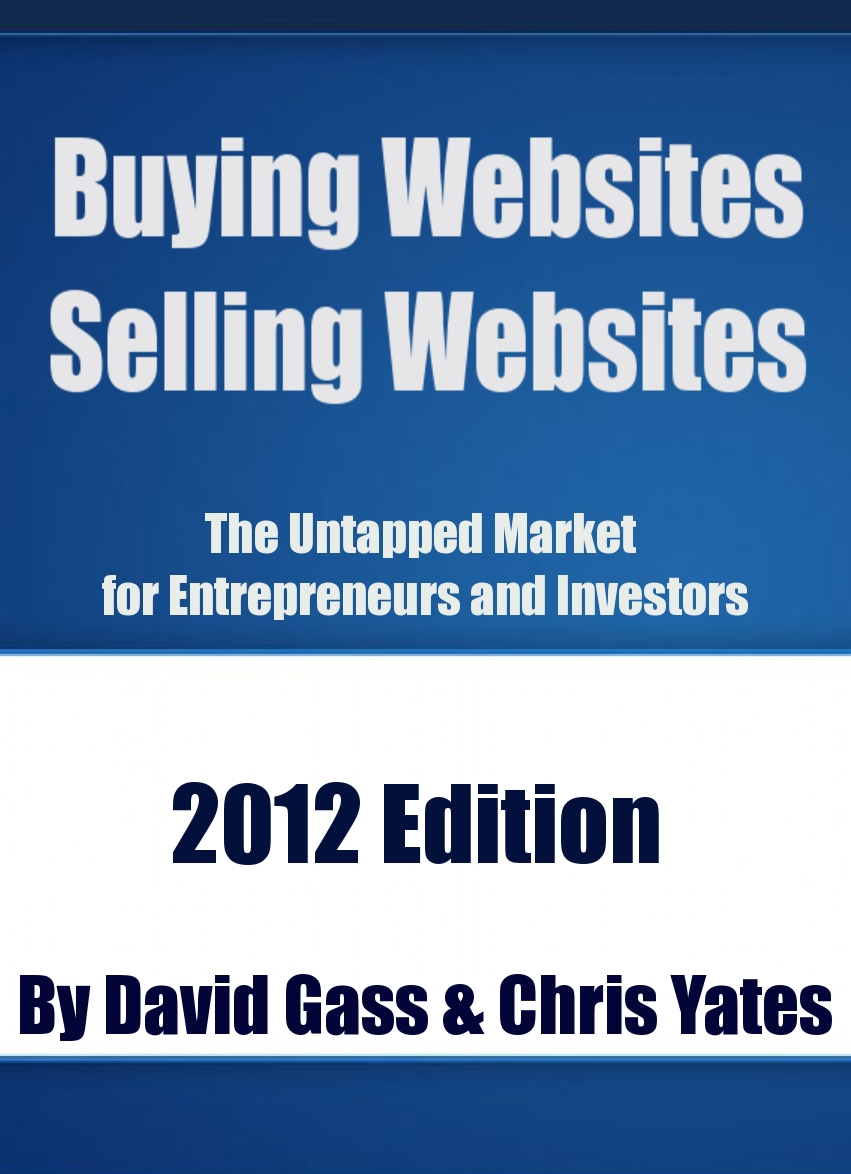 Buying Websites Selling Websites: The Untapped Market for Entrepreneurs and Investors