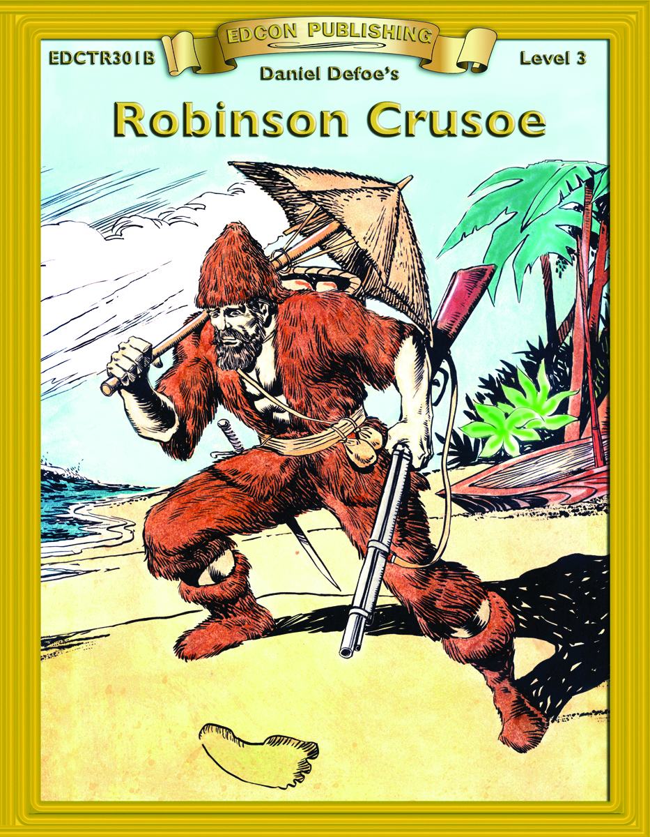 Robinson Crusoe: Classic Literature Easy to Read