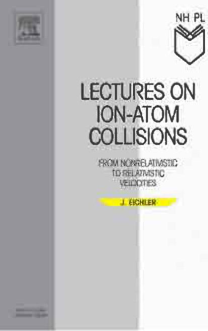 Lectures on Ion-Atom Collisions: From Nonrelativistic to Relativistic Velocities