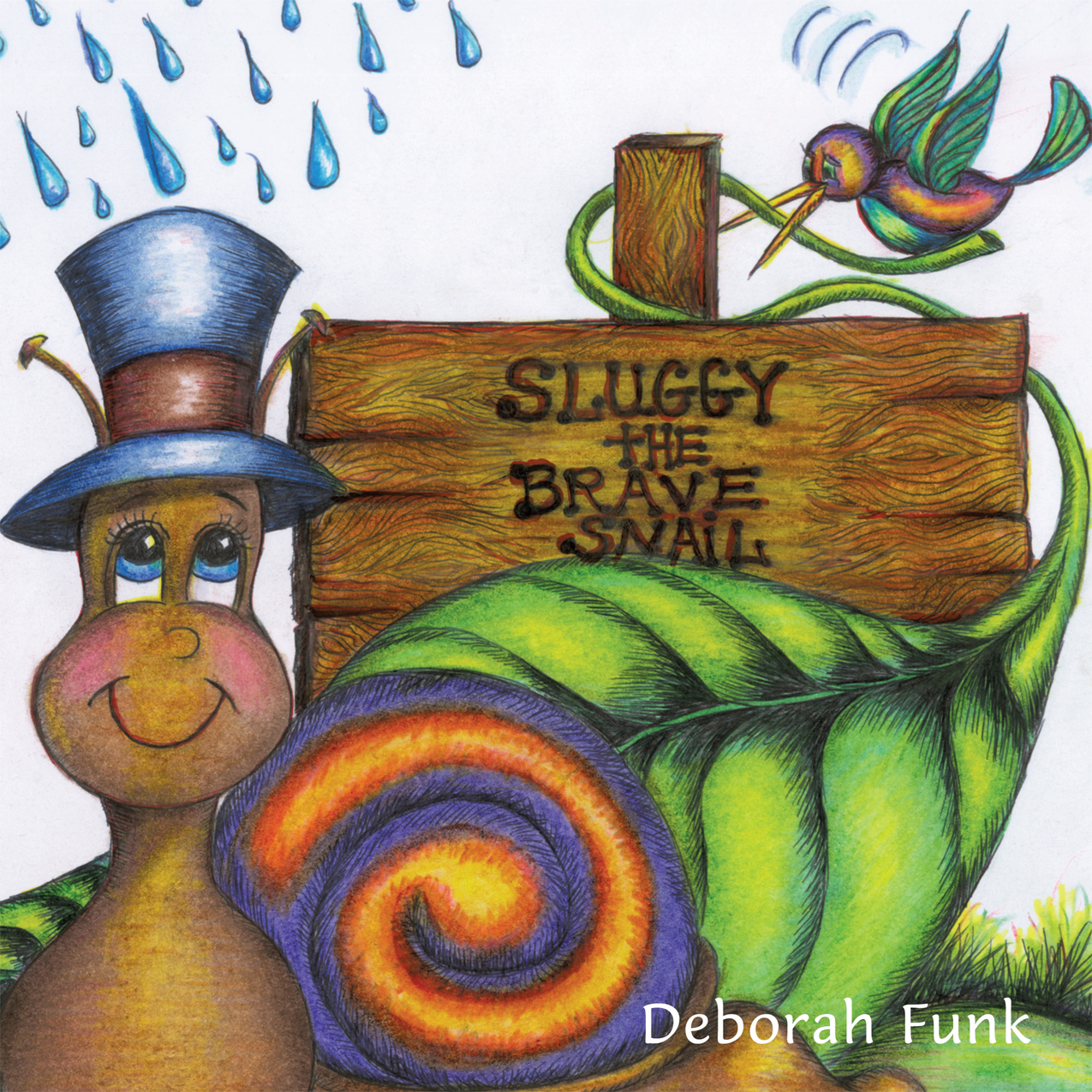 Sluggy the Brave Snail