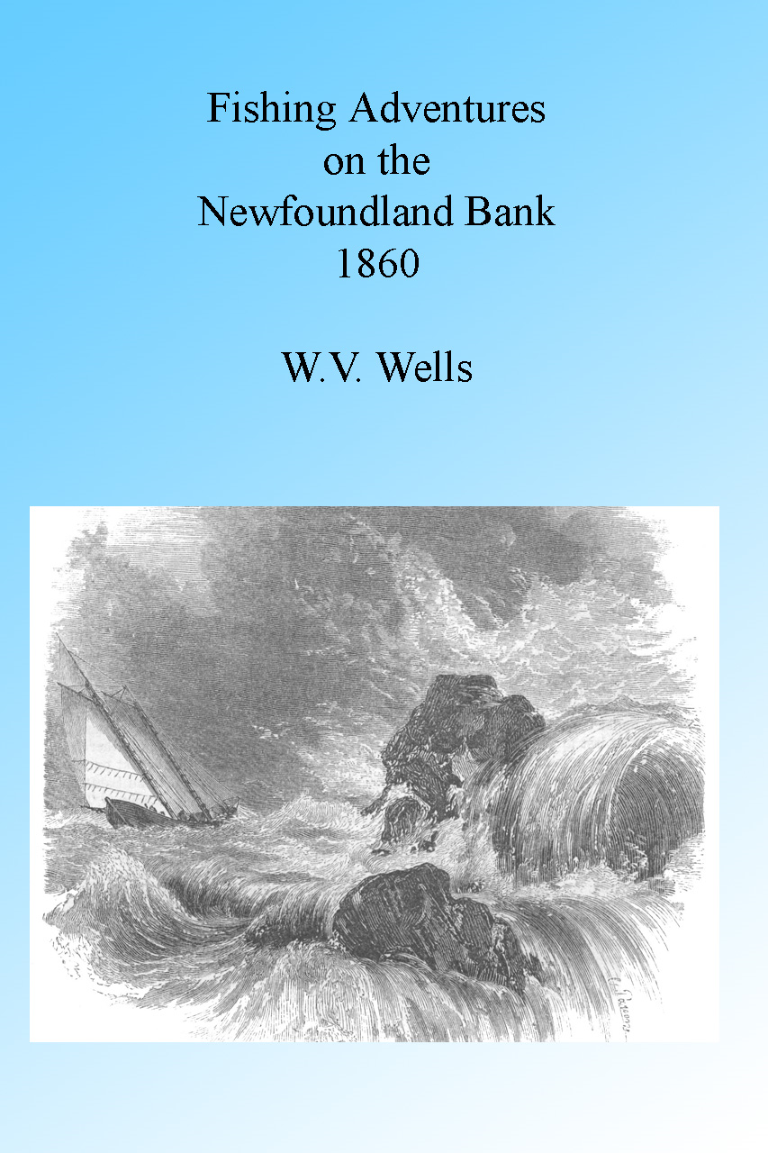 Fishing Adventures on the Newfoundland Banks 1860 By: W V Wells