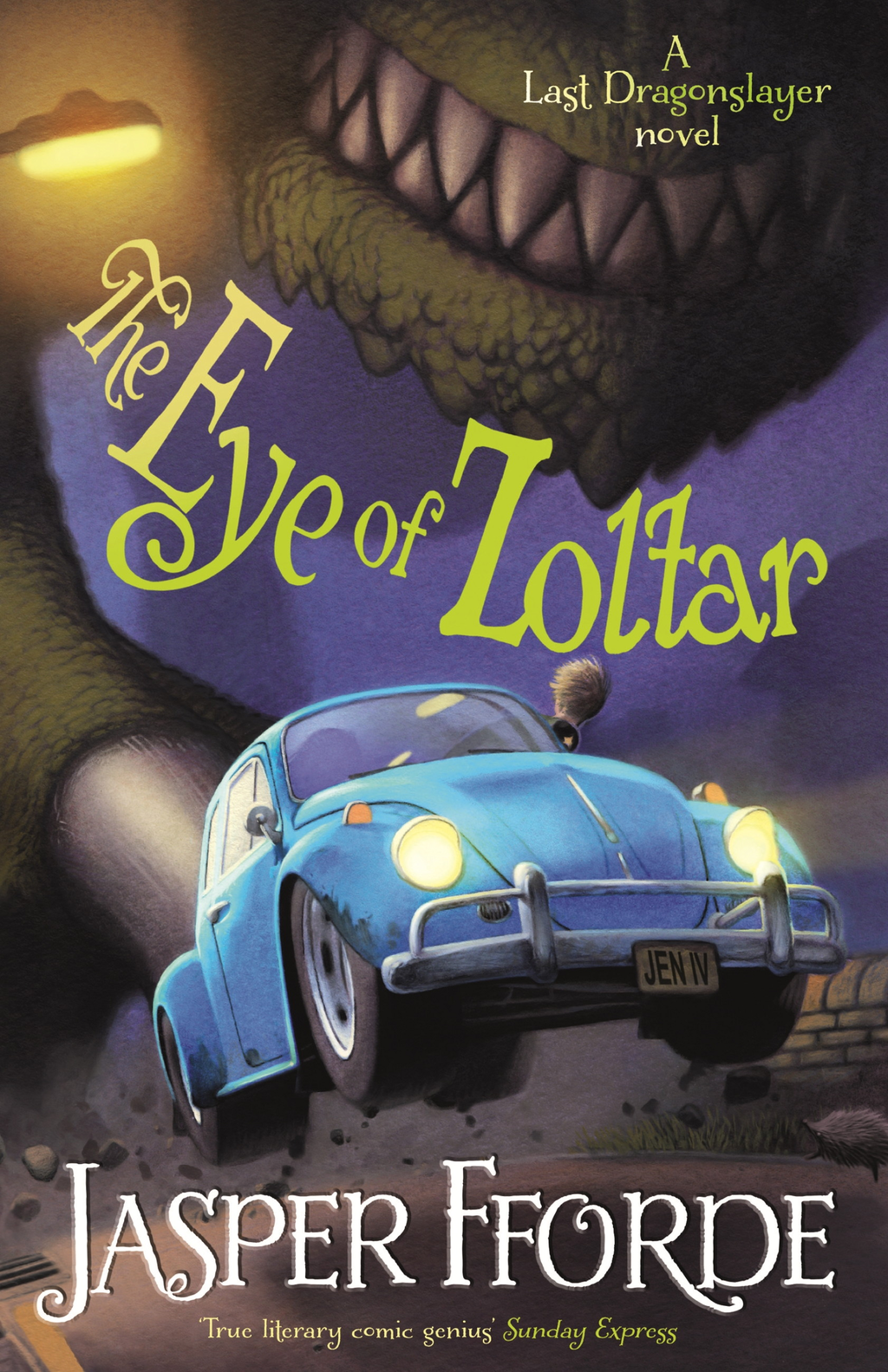 The Eye of Zoltar Last Dragonslayer Book 3