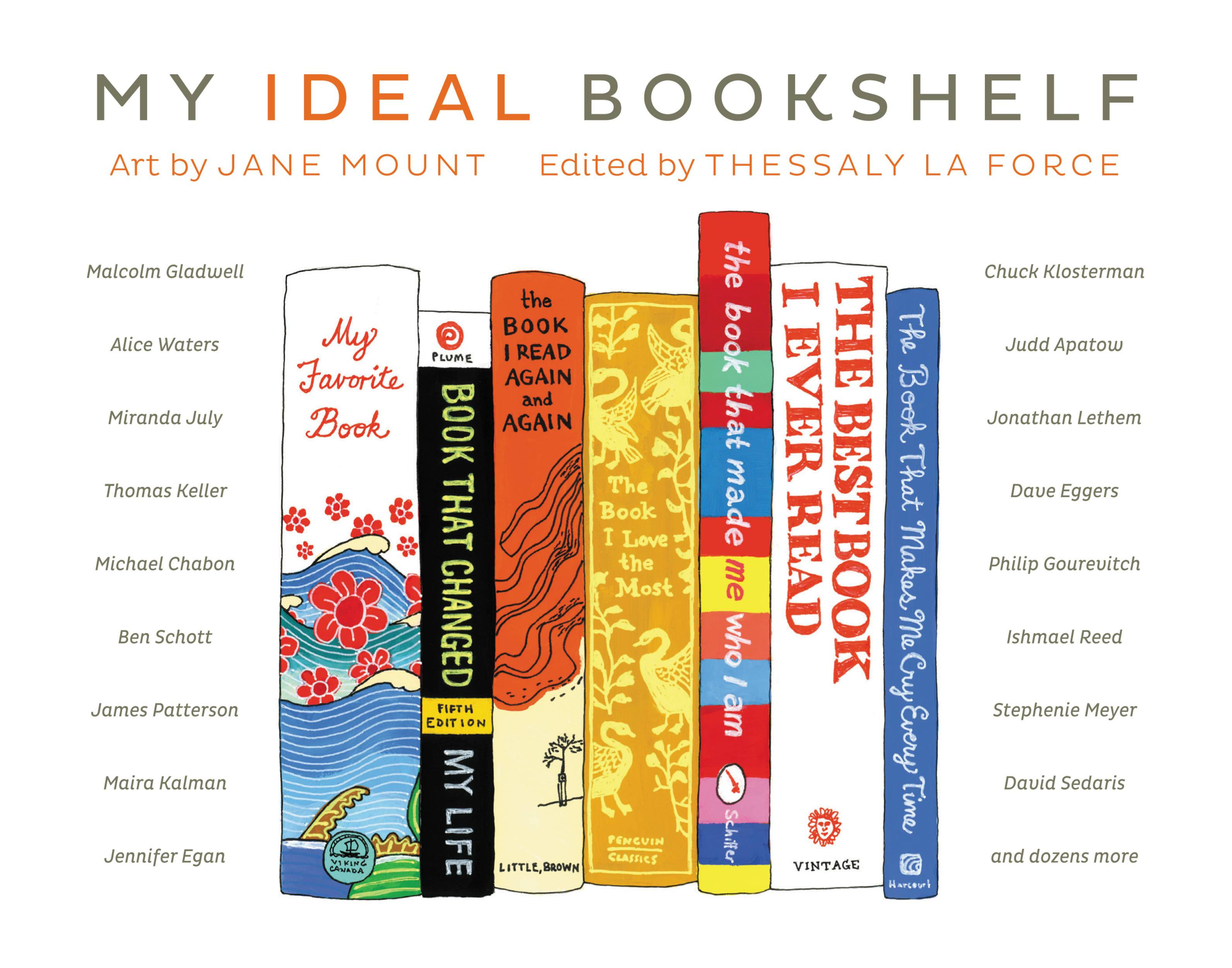 My Ideal Bookshelf By: Jane Mount