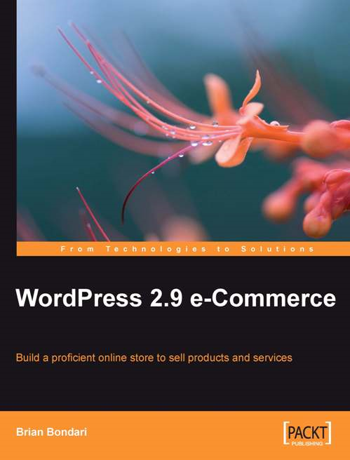 WordPress 2.9 E-Commerce