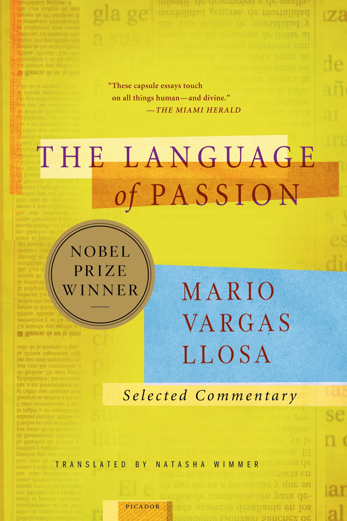 The Language of Passion By: Mario Vargas Llosa