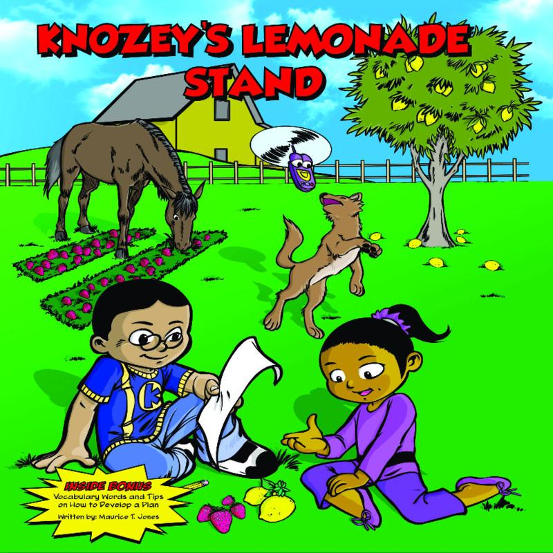 Knozey's Lemonade Stand: Children's Books