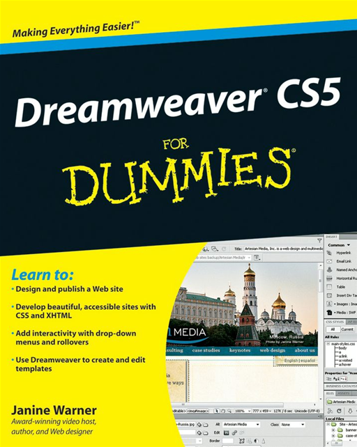 Dreamweaver CS5 For Dummies