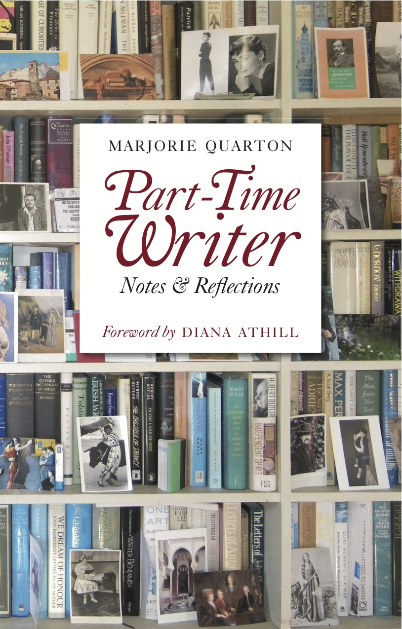Part-Time Writer By: Marjorie Quarton