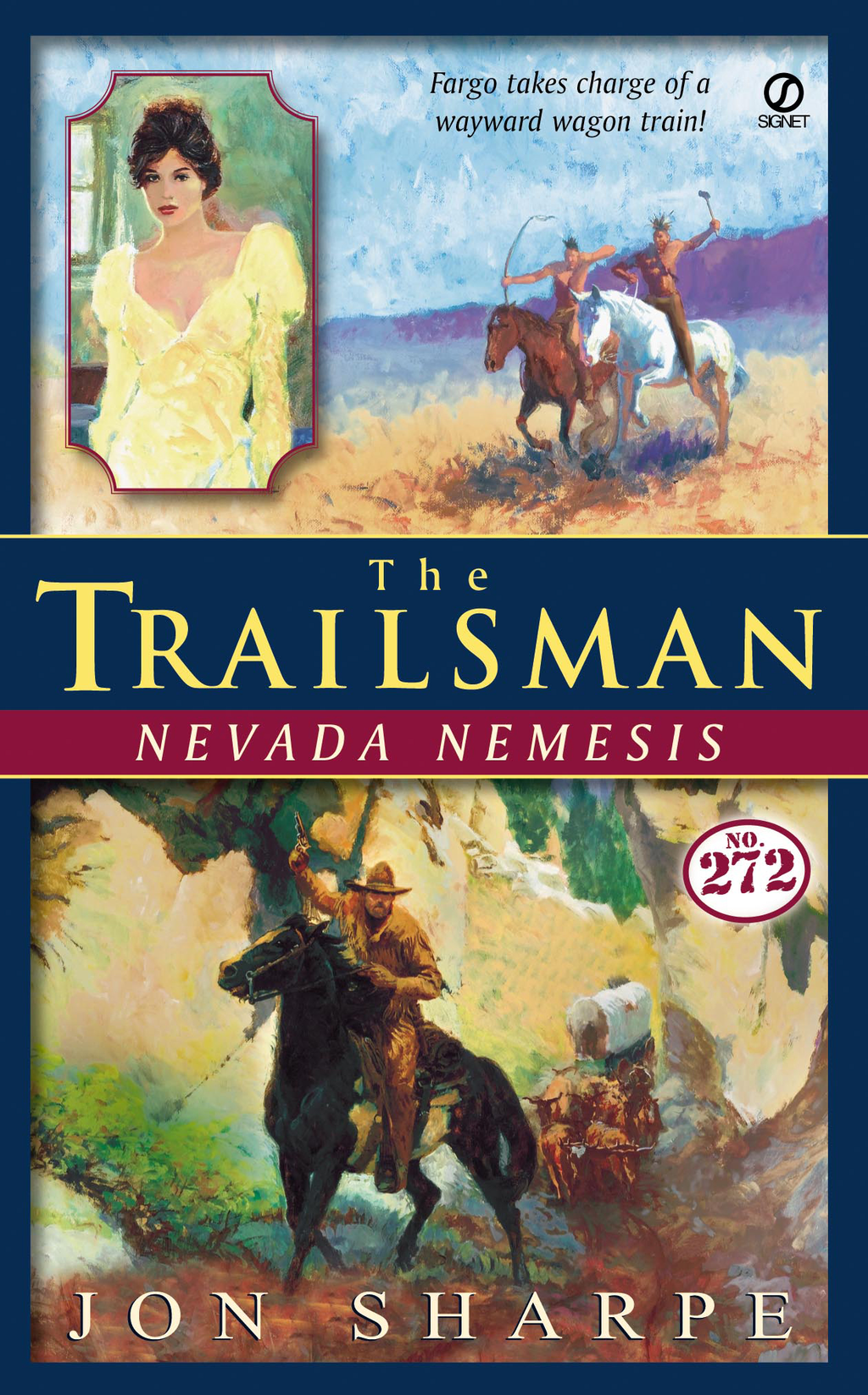 Trailsman #272, The: Nevada Nemesis