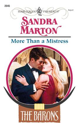 More Than a Mistress By: Sandra Marton