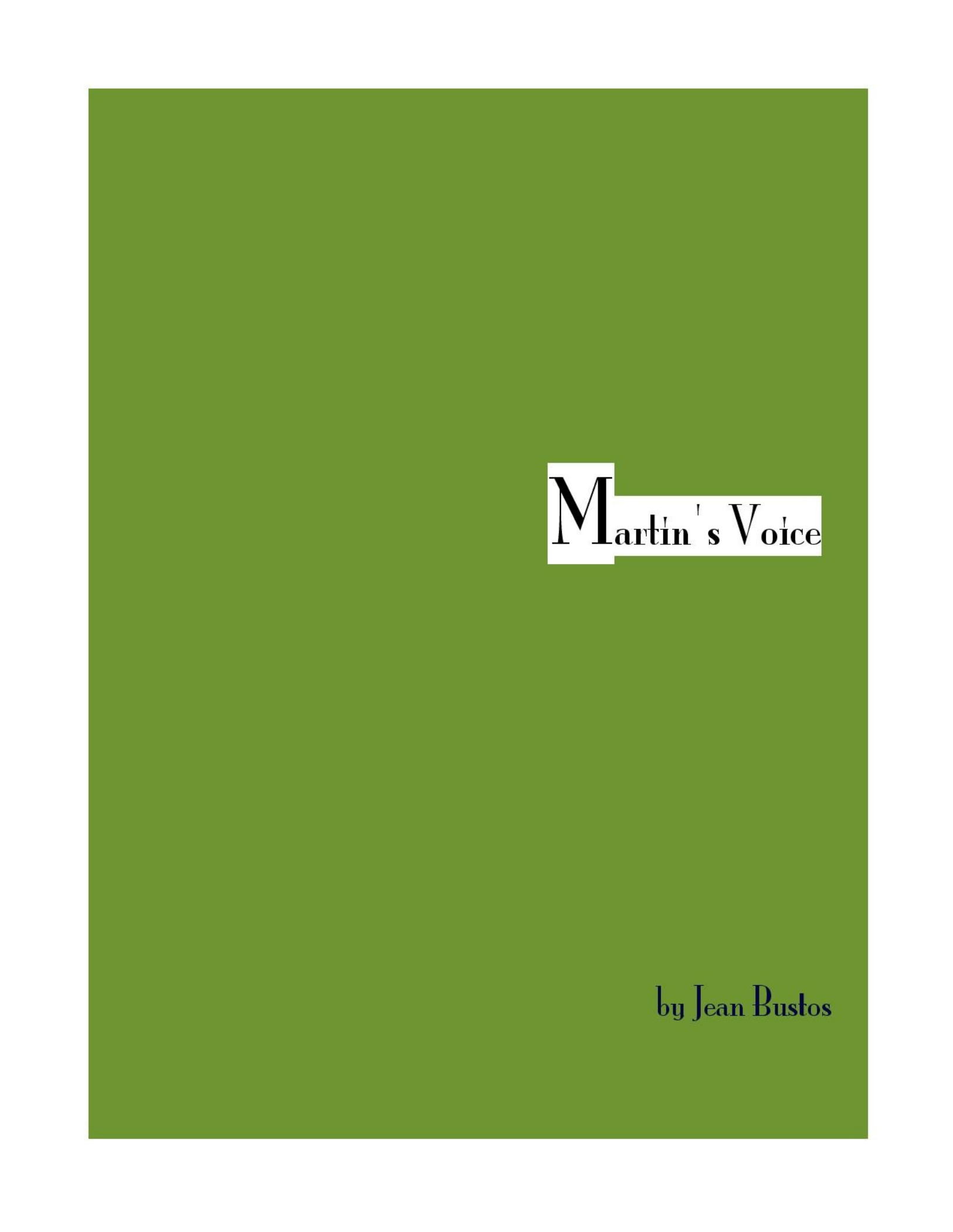 Book Cover: Martin's Voice