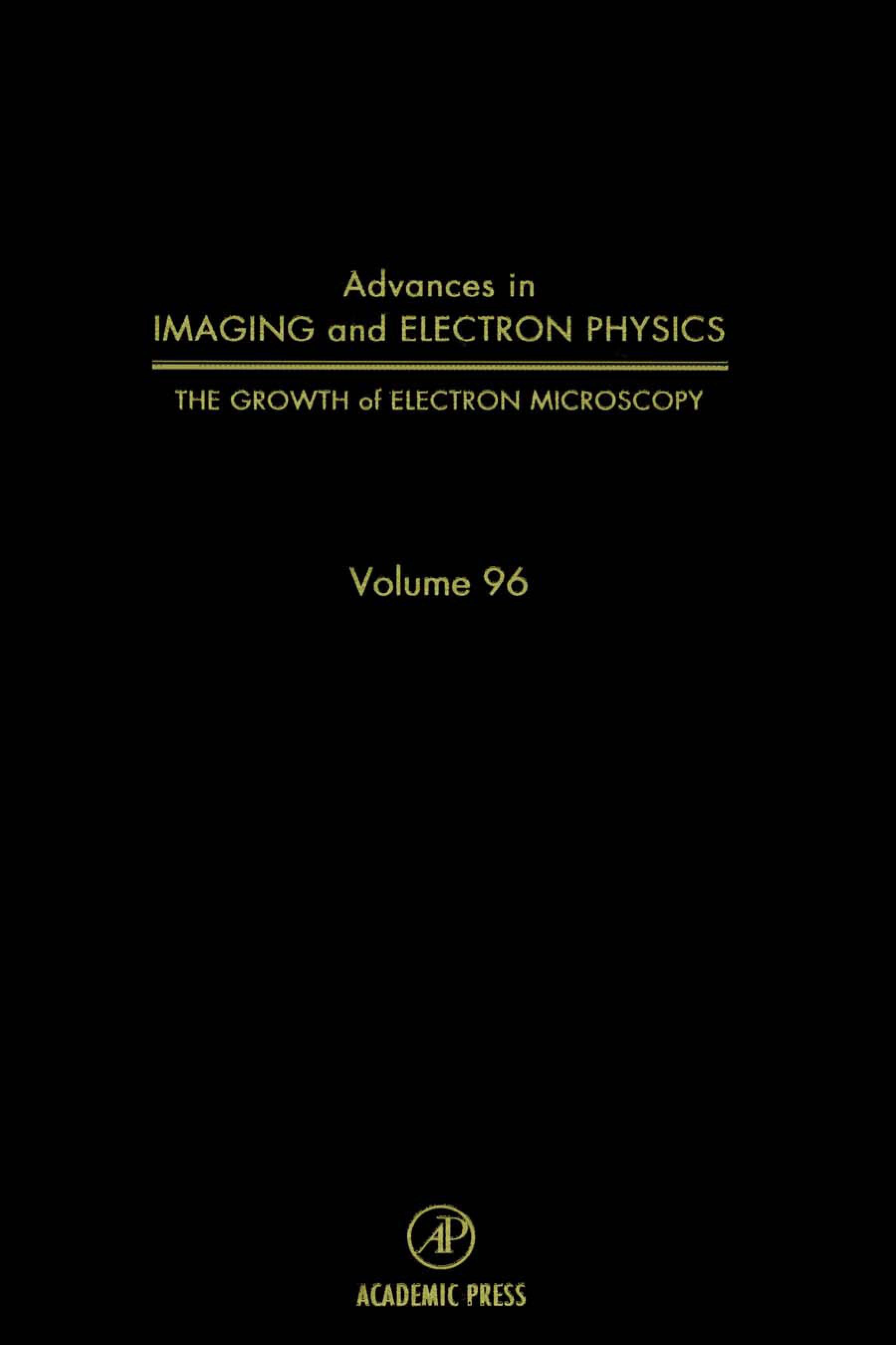 The Growth of Electron Microscopy