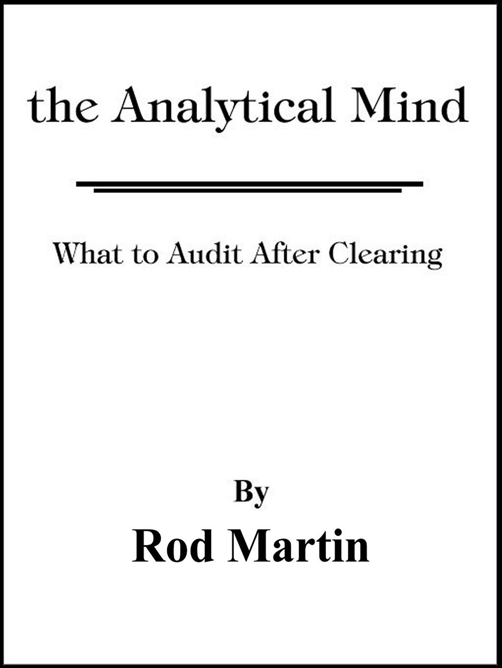 The Analytical Mind