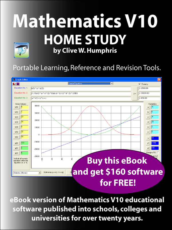 Mathematics V10 Home Study