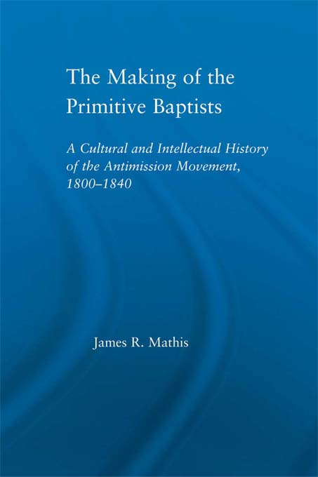 Making of the Primitive Baptists